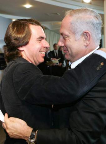 1155. Aznar apadrinará a Netanyahu como doctor 'honoris causa' de la UCAM