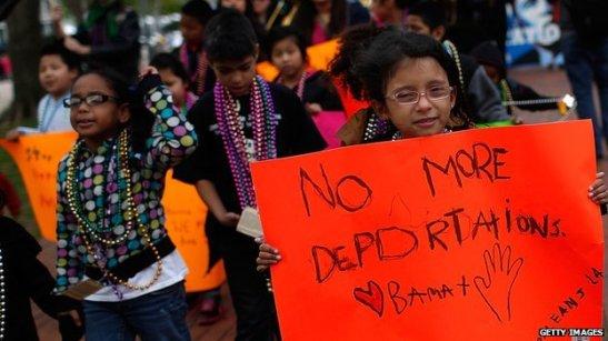 1170. Niños migrantes a EEUU deberán retornar al 'triángulo infernal'