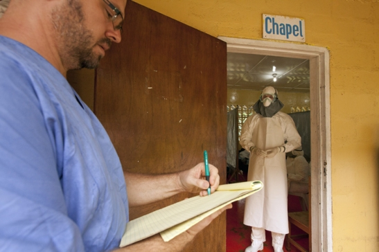 American Doctor in Liberia Stricken with Ebola