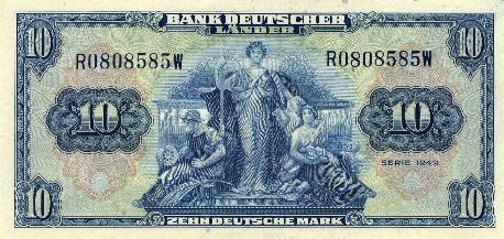 1181. La anulación de la deuda alemana en 1953 en comparación con el tratamiento reservado al Tercer Mundo y a Grecia
