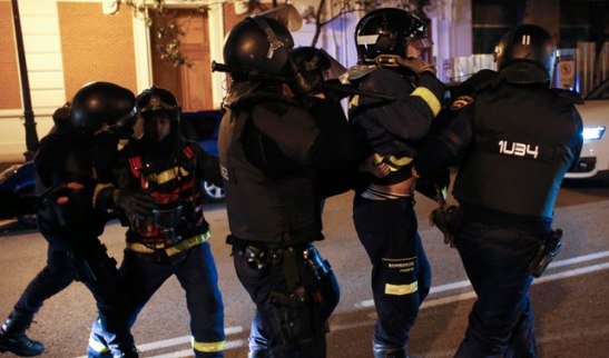 1217. Vídeo - Respuesta a Porqué la Policía Antidisturbios Carga Contra Ciudadanxs Inocentes