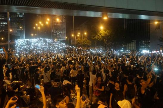 1264. Fears of a Tiananmen-Style Crackdown Swirl in Hong Kong as Pro-Democracy Protests Continue