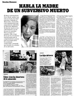 1344. Argentina procesa a un periodista por delitos de lesa humanidad