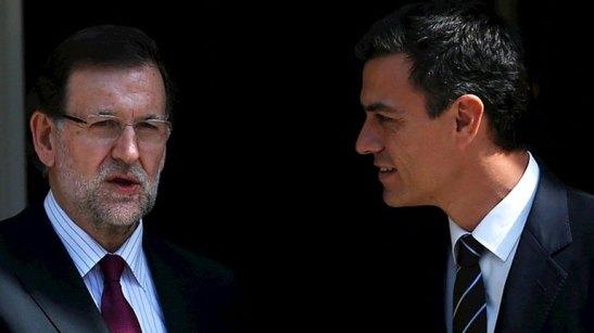 1387. Sánchez se muestra dispuesto a pactar con Rajoy en la próxima legislatura