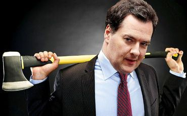 1400. Osborne Reveals Real Aim Of Austerity - Public Sector To Be Cut To 1930's Levels In Next Four Years
