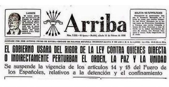 1414. Ley mordaza de España - regresión autoritaria