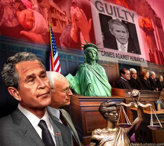 1442. Democracy And Corruption - Germany Files War Crimes Charges Against Bush, Cheney, Rumsfeld And Other CIA Officials