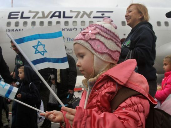 1448. More than 220 Ukrainian immigrants land in Israel