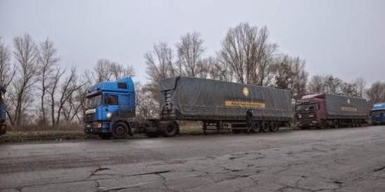 1453. Organizaciones alertan de un desastre humanitario en el este de Ucrania por el bloqueo a la ayuda