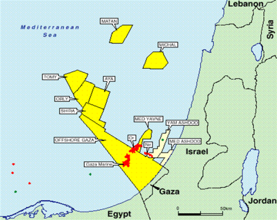 1465. Israel and Gaza - The War to Control Gas Resources