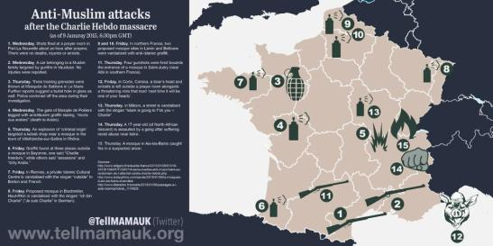 1494. Anti-Muslim Attacks After Charlie Hebdo Highlight France's Long History Of Islamophobia