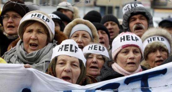 1523. El FMI exige a Ucrania una subida del 600% del precio del gas en los hogares