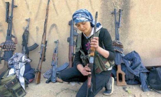 1540. Las mujeres que expulsaron al Estado Islámico de Kobani
