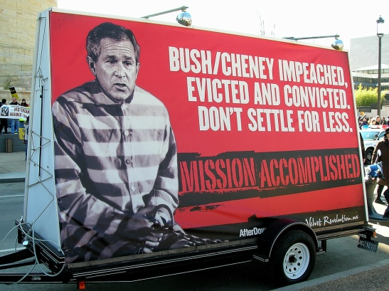 1606. Bush Convicted of War Crimes in Absentia