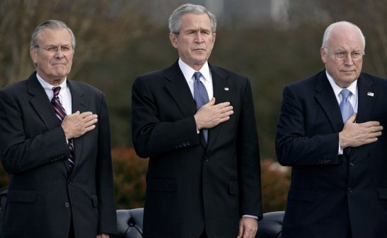 1608. Germany Files War Crimes Against Bush, Cheney, Rumsfeld And Other CIA Officials