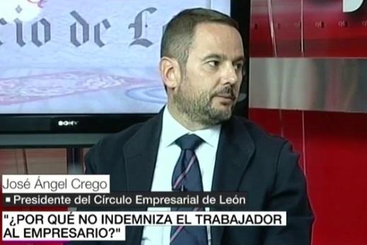 1645. El candidato de Ciudadanos en León será el empresario que propuso que los despedidos pagasen indemnización a su empresa