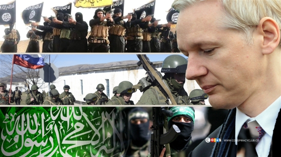 1679. Assange Reveals That The West is Behind ISIS And Ukraine Crisis And Israel Behind Hamas