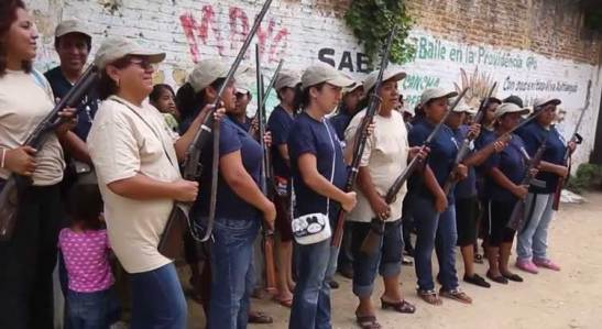 1691. Hundreds Of Armed Women Defend Mexican City From Cartels