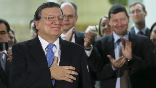 1704. Barroso - 'No me creo el paro en España. Son centroamericanos que quieren el subsidio'