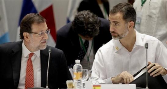 1715. EE.UU diseña una salida para el régimen - Rajoy debe poner su cargo a disposición de Felipe VI