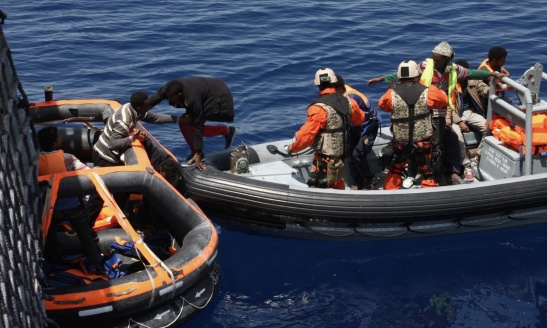 1771. EU draws up plans for military attacks on Libya targets to stop migrant boats