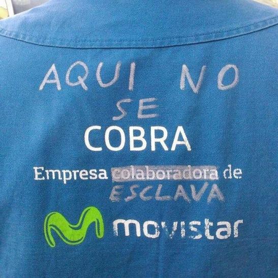 1787. La huelga en las contratas Movistar se extiende a la plantilla directa de Telefónica