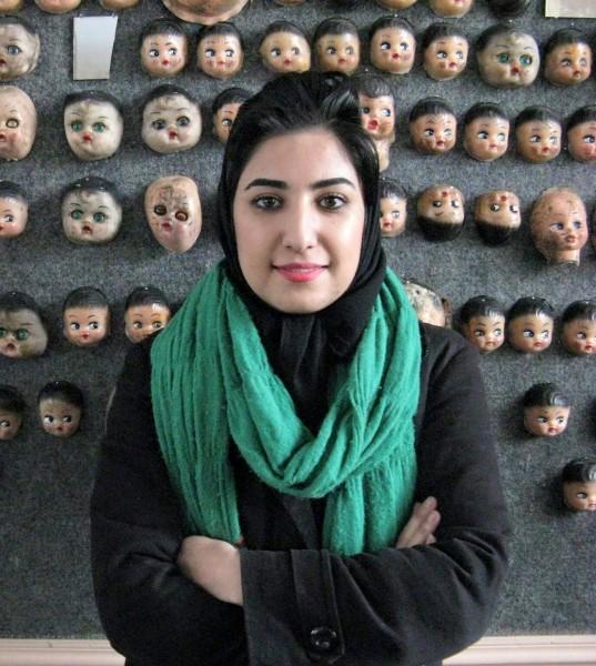 1801. Enjuician a Atena Farghadani en Irán por sus caricaturas sobre acceso a la contracepción
