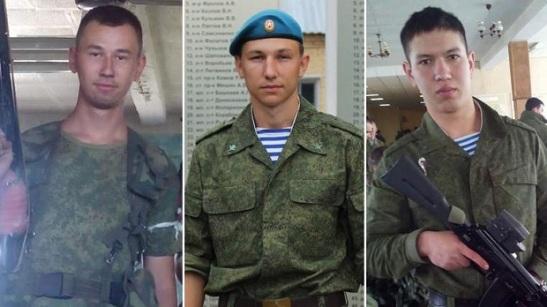 1833. Russian Soldiers' Deaths Raise Ukraine Questions