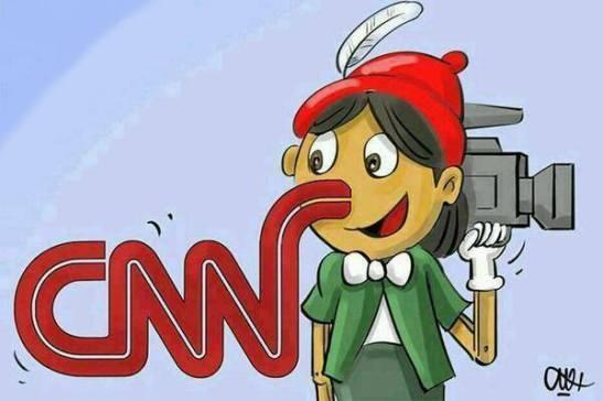 1892. El canal yanqui CNN reconoce haber mentido sobre los saqueos en Venezuela