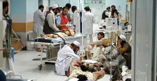 1914. La ONU califica de posible crimen de guerra el ataque de EEUU a un hospital en Afganistán