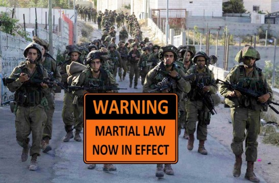 1931. Israel to declare military curfew on all Palestinians!