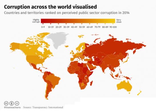 1936. El Mapa de la Corrupción - Periodismo de datos en favor de la transparencia