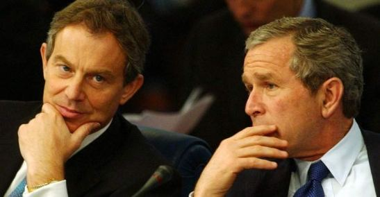 1942. Newly Released Clinton Email Proves Bush & Blair Plotted Iraq War A Year Before Launching It
