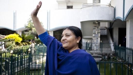 1967. Líder feminista Bidhya Bhandari es la nueva presidenta de Nepal