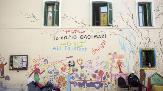 2053. Pikpa Camp, el campo de refugiados asambleario y horizontal en Lesbos