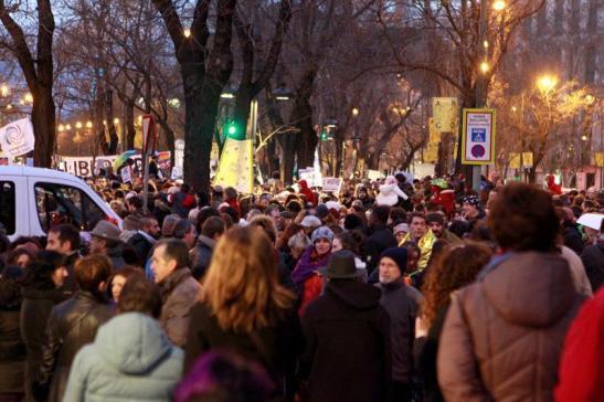 3026. Marchas en toda Europa reclaman un 'pasaje seguro' para los refugiados