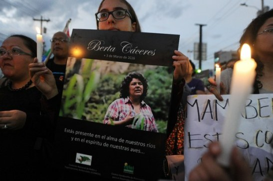 3041. Before Her Assassination, Berta Cáceres Singled Out Hillary Clinton for Backing Honduran Coup