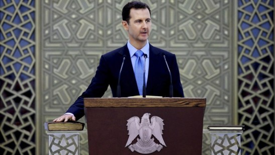 3043. Bashar al-Assad - Terrorism in Syria, Iraq Directly Supported By France, UK, Turkey, Saudi Arabia